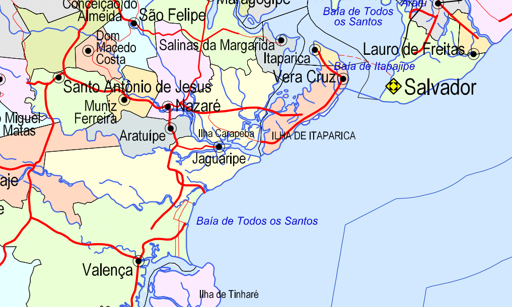 mapa IBGE